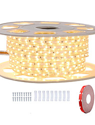 cheap -KWB 9M Shine Decor LED Strip Lights 220V Flexible Waterproof Rope Lights 5050 360LEDs for Indoor Outdoor Ambient Commercial Lighting Decoration