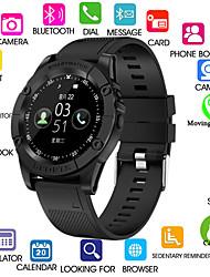 Недорогие -Kimlink SW98 Мужчины Смарт Часы Android Bluetooth Сенсорный экран Израсходовано калорий Хендс-фри звонки Фотоаппарат Регистрация дистанции / Педометр / Напоминание о звонке / 0.3 мегапикс.
