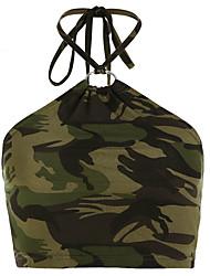 economico -Canotte Per donna Camouflage Arcobaleno M