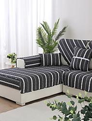 levne -sofa Polštář Proužky Prošívaný Bavlna potahy