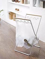 billige -Høy kvalitet med Jern Hengende kurver / Lagringshylle for søppelsekken Til hjemmet / Dagligdags Brug / Multifunktion Kjøkken Oppbevaring 1 pcs