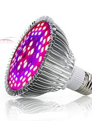 billiga -1st 50 W 2500-3200 lm 78 LED-pärlor Fullt Spektrum För växthus Hydroponic Växande ljusarmatur Vit Röd Blå 85-265 V Växtodling