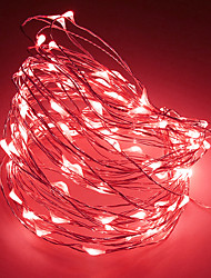 cheap -2m String Lights 20 LEDs Warm White / RGB / White Creative / Party / Decorative Batteries Powered 1pc