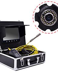 hesapli -23mm lens endüstriyel endoskop 30 m çalışma uzunluğu 9 inç ekran araba tamir muayene boru hattı tamir