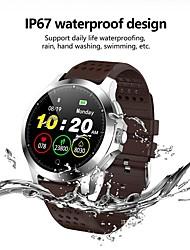 Недорогие -W8 Smart Watch BT Поддержка фитнес-трекер уведомления / пульсометр спортивные SmartWatch совместимы с телефонами Iphone / Samsung / Android