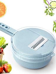 ieftine -Oțel inoxidabil + plastic Peeler & Razatoare Multifuncțional Instrumente pentru ustensile de bucătărie Multifuncțional pentru legume 1set