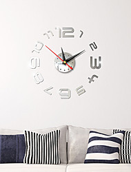 cheap -Wall Clock,European Fashion Acrylic Plastic Round Indoor