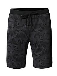 tanie -Męskie Podstawowy Szorty Spodnie - Wzór Czarny
