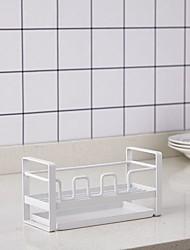 billige -Høy kvalitet med Jern Racks & Holders / Tips-ut skuffer / Bulk Food Storage Dagligdags Brug / For kjøkkenutstyr / Originale kjøkkenredskap Kjøkken Oppbevaring 1 pcs