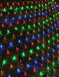 hesapli -1.5 m dize ışıkları 96 leds rgb beyaz mavi su geçirmez yaratıcı parti 110-120 v 1 takım