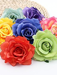 cheap -Artificial Flowers 5 Branch Classic Wedding Pastoral Style Roses Eternal Flower Tabletop Flower