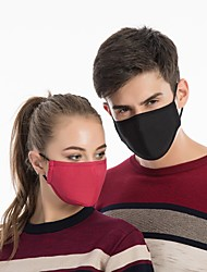 cheap -Sports Mask Fuchsia Grey Dark Navy Thermal / Warm Windproof Breathable Recreational Cycling Unisex Cotton