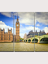 abordables -Imprimé Impression sur Toile - Moderne Réalisme Classique Moderne Trois Panneaux