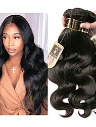 olcso -3 csomag Maláj haj Hullámos haj Remy haj Az emberi haj sző Bundle Hair Egy Pack Solution 8-28 hüvelyk Természetes szín Emberi haj sző Legjobb minőség Hot eladó Divat Human Hair Extensions Női