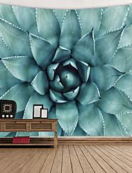 Недорогие -Цветы Декор стены 100% полиэстер Современный Предметы искусства, Стена Гобелены Украшение