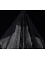 baratos -Chifon Cor Única Elástico 160 cm largura tecido para Vestuário e Moda vendido pelo 0,1 m