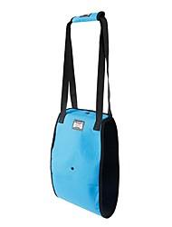abordables -Perros Gatos Cuello Bozales Impermeable Portátil Mini Un Color Tejido Oxford Gris Azul