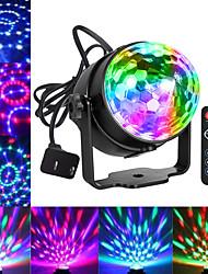 Недорогие -Праздничные огни диско-шар DJ-огни Blingco диско-огни звук активированные стробоскопы Вечеринка-шар светодиодные сценические огни эффект шоу освещение диско свет на день рождения DJ дети Xmas клуб
