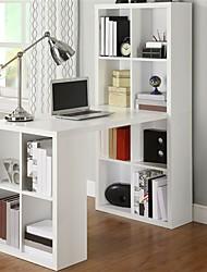 Недорогие -домашний офис ноутбук компьютерный стол письменный стол с отделкой из белого дерева