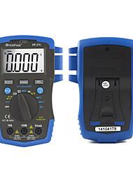 Недорогие -мини мультиметр цифровой Holdpeak hp-37c автоматический диапазон истинное среднеквадратичное значение напряжения переменного / постоянного тока цифровой мультиметр температура электрический тестер ncv