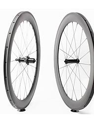 Недорогие -FARSPORTS 700CC Колесные пары Велоспорт 25 mm Шоссейный велосипед Поликарбонат / Углеродное волокно Однотрубка 20/24 Спицы 60 mm