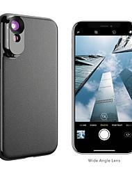 Недорогие -Объектив для мобильного телефона Длиннофокусный объектив / Широкоугольный объектив стекло / ABS + PC 2X 10 mm 0.01 m 110 ° Линза / объектив в чехле
