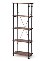 Недорогие -гостиная кухня кладовая 4-х полочный книжный шкаф книжная полка винтажный индустриальный стиль