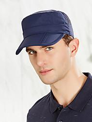 Недорогие -Шляпа для туризма и прогулок Кепка 1 ед. С защитой от ветра Защита от солнечных лучей Устойчивость к УФ Дышащий Сплошной цвет Чинлон Лето для Муж. / Быстровысыхающий