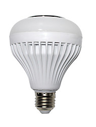 お買い得  -1個 12 W LEDボール型電球 510-610 lm E26 / E27 72 LEDビーズ リモコン操作 マルチカラー 85-265 V