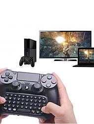 Недорогие -Клавиатура 3,5 мм мини беспроводная чат-клавиатура сообщения для контроллера PS4 черный
