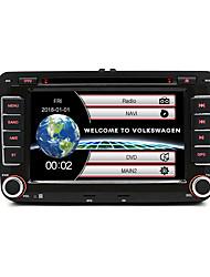 Недорогие -junsun 2531 2 din 7 дюймовый автомобильный DVD-радио мультимедиа плеер для VW / Skoda / Octavia / Fabia / Fast / Yeti / Сиденье / Леон GPS-навигатор стерео аудио