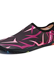 Χαμηλού Κόστους -Γυναικεία Ελαστικό ύφασμα Καλοκαίρι Αθλητικό / Καθημερινό Αθλητικά Παπούτσια Παπούτσια Upstream Επίπεδο Τακούνι Στρογγυλή Μύτη Γκρίζο / Ροζ / Μαύρο / Πράσινο