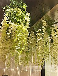 Недорогие -Искусственные Цветы 12 Филиал С креплением на стену подвешенный Стиль Свадьба Сирень Фиолетовый Цветы на стену