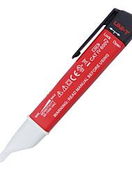 Недорогие -uni-t ut13b переменный ток детекторы регулируемая чувствительность авто чувствительный тест ручка 24v600v со светодиодным фонариком высокого качества