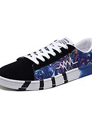 economico -Per uomo Scarpe comfort PU (Poliuretano) Primavera Casual Sneakers Antiscivolo Monocolore Nero / Verde / Blu