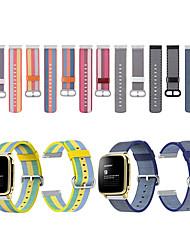 Недорогие -Ремешок для часов для Pebble Time / Pebble Time Steel Pebble Спортивный ремешок Материал / Нейлон Повязка на запястье