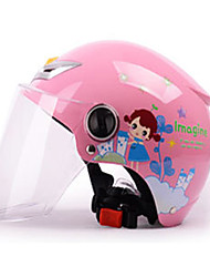 Недорогие -Открытый шлем Дети Универсальные Мотоциклистам Детский Безопасный случай / Ультралегкий (UL)
