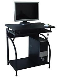 Недорогие -компьютерный стол с выдвижным лотком для клавиатуры и нижней полкой