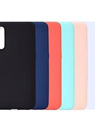 Недорогие -Кейс для Назначение SSamsung Galaxy A6 (2018) / A6+ (2018) / Galaxy A7(2018) Защита от удара / Матовое Кейс на заднюю панель Однотонный Мягкий ТПУ