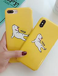 hesapli -Apple iphone xr / iphone xs max desen arka kapak hayvan / karikatür sert pc için iphone x xs 8 8 artı 7 7 artı 6 6 s 6 artı 6 s artı