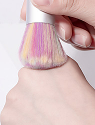 저렴한 -1 개 PVC 더스팅 브러쉬 제품 큐티클 손톱 손가락 최고의 품질 메시지 시리즈 네일 아트 매니큐어 페디큐어 세련 일상