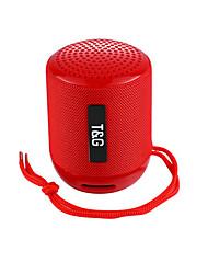baratos -Tg129 speaker bluetooth sem fio ao ar livre portátil cartão portátil moda presente criativo subwoofer mini som