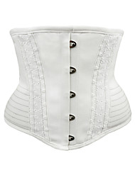 abordables -Polyester / Coton Corset Broderie Mariage