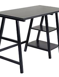 Недорогие -черный домашний офис ноутбук компьютерный стол письменный стол
