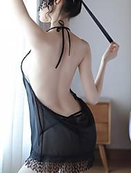 povoljno -Žene Seksi bodi Noćno rublje - Otvorena leđa Jednobojni