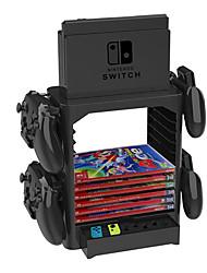 Недорогие -наборы подставок / ручка-скоба для Nintendo Switch, творческие наборы подставок / ручка-скоба из ПВХ (поливинилхлорид) 1 шт.