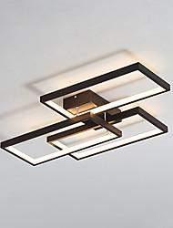 hesapli -52 w modern stil üç çerçeve kombinasyonu led tavan lambası gömme montaj oturma odası yatak odası yemek odası lambası