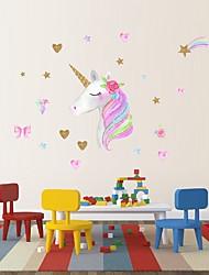 billige -1pc dekorative klistermærke til børns baby værelse enhjørning klistermærker