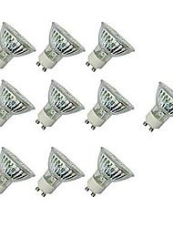 Недорогие -10 шт. 4 W Точечное LED освещение 300 lm GU10 GU10 60 Светодиодные бусины SMD 2835 Декоративная Тёплый белый Холодный белый 220-240 V