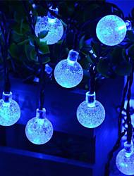 preiswerte -1 Satz LED Laterne Solar Lichterkette 20m 200 Licht Blase Ball im Freien wasserdicht Licht Garten Dekoration Licht